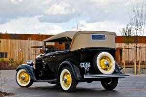 Ford V8 - ved Solbergtårnet