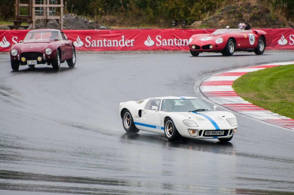 Som på Le Mans i slutten av 60-årene. Ford GT 40 setter sluttstrek for Ferraris dominans