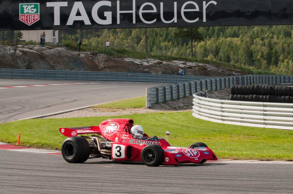 42 år siden debuten i Formel 1 var det fortsatt både fart og lyd i Marchen.
