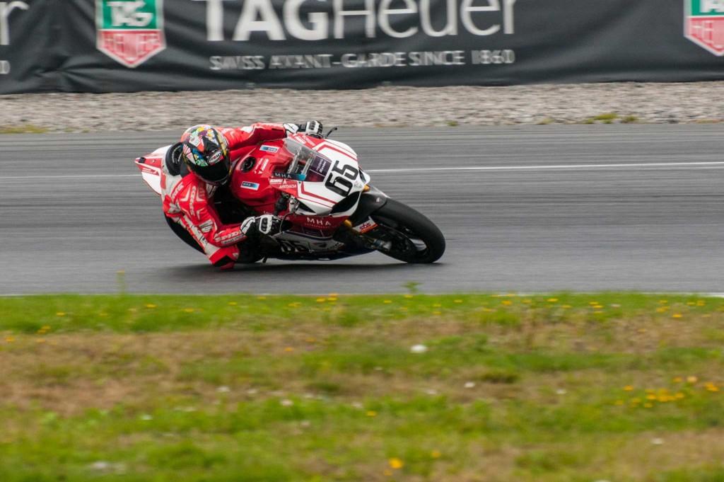 Ole Bjørn Plassen (også kalt førsteplassen) kjørte inn til NM-tittel i Superbike.