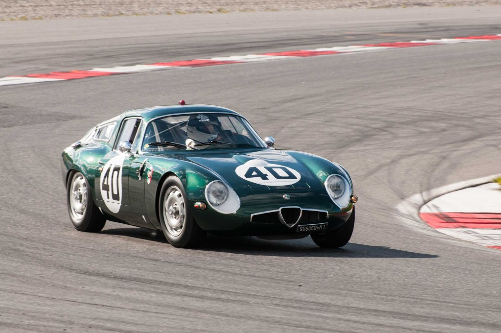 Denne Alfa Romeo TZ deltok på Le Mans i 1964. Befinner seg nå i Sverige