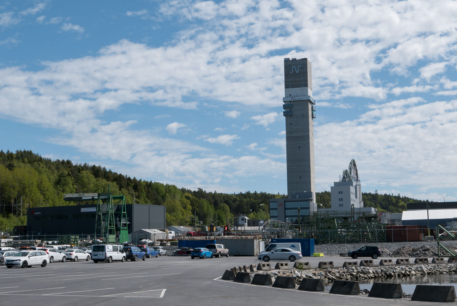 Nexans-tårnet- Norges høyeste bygning med sine 120 meter.