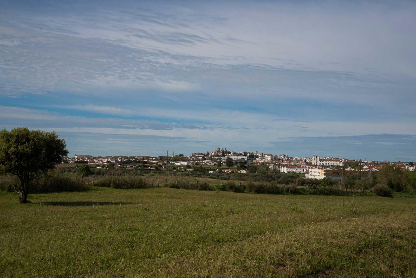 Evora, en fin og gammel by. Også denne med festning på toppen.