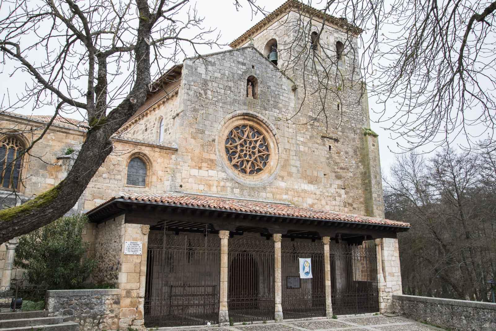 Kirken i Covarrubias, der Prinsesse Kristina fikk sitt siste hvilested