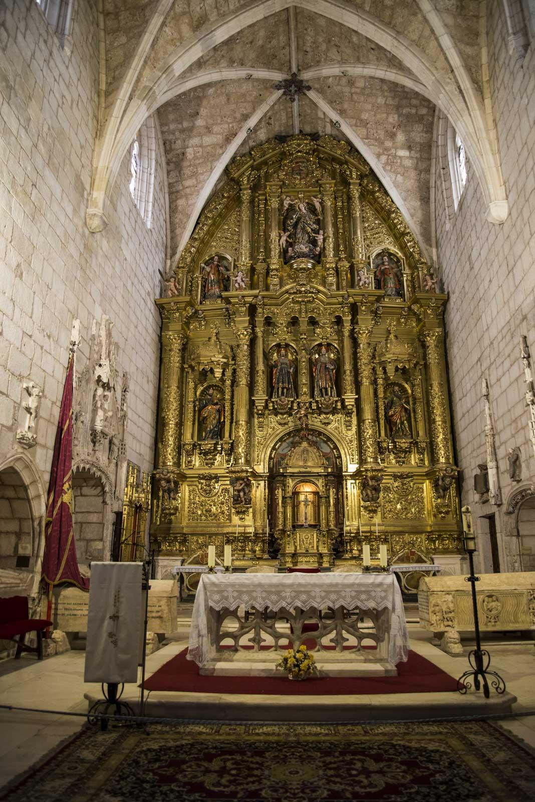 Kirkerommet i den gamle klosterkirken