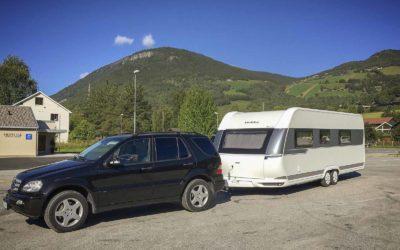 Til Spania med campingvogn