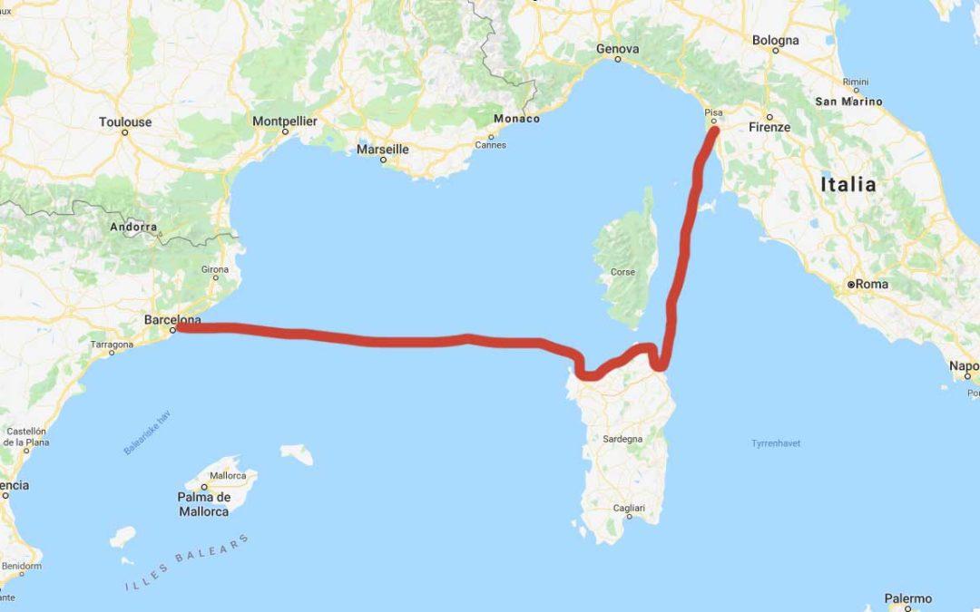 """Sardinia – """"Snarveien"""" over Middelhavet"""