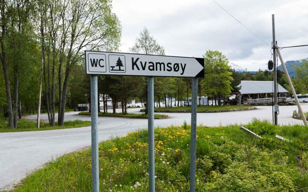 Kvamsøy – Flott rasteplass ved Balestrand