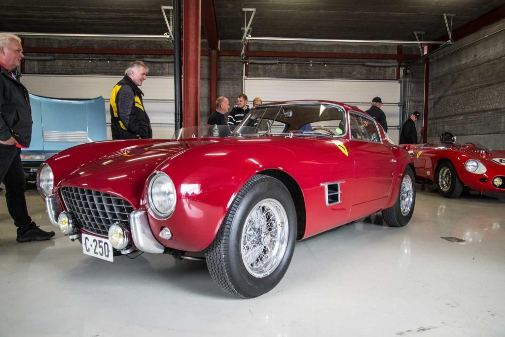 En Ferrari 250 er det ikke hver dag man møter på i Norge.