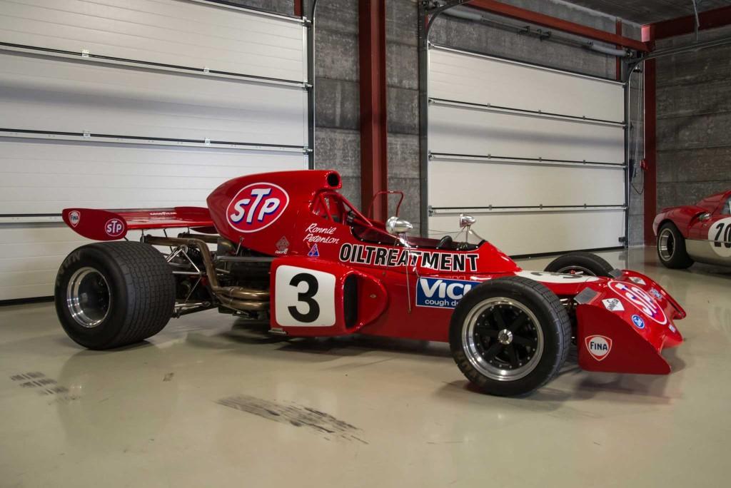 Ronnie Petersons March 721X som han kjørte i 1972-sesongen i Formel 1