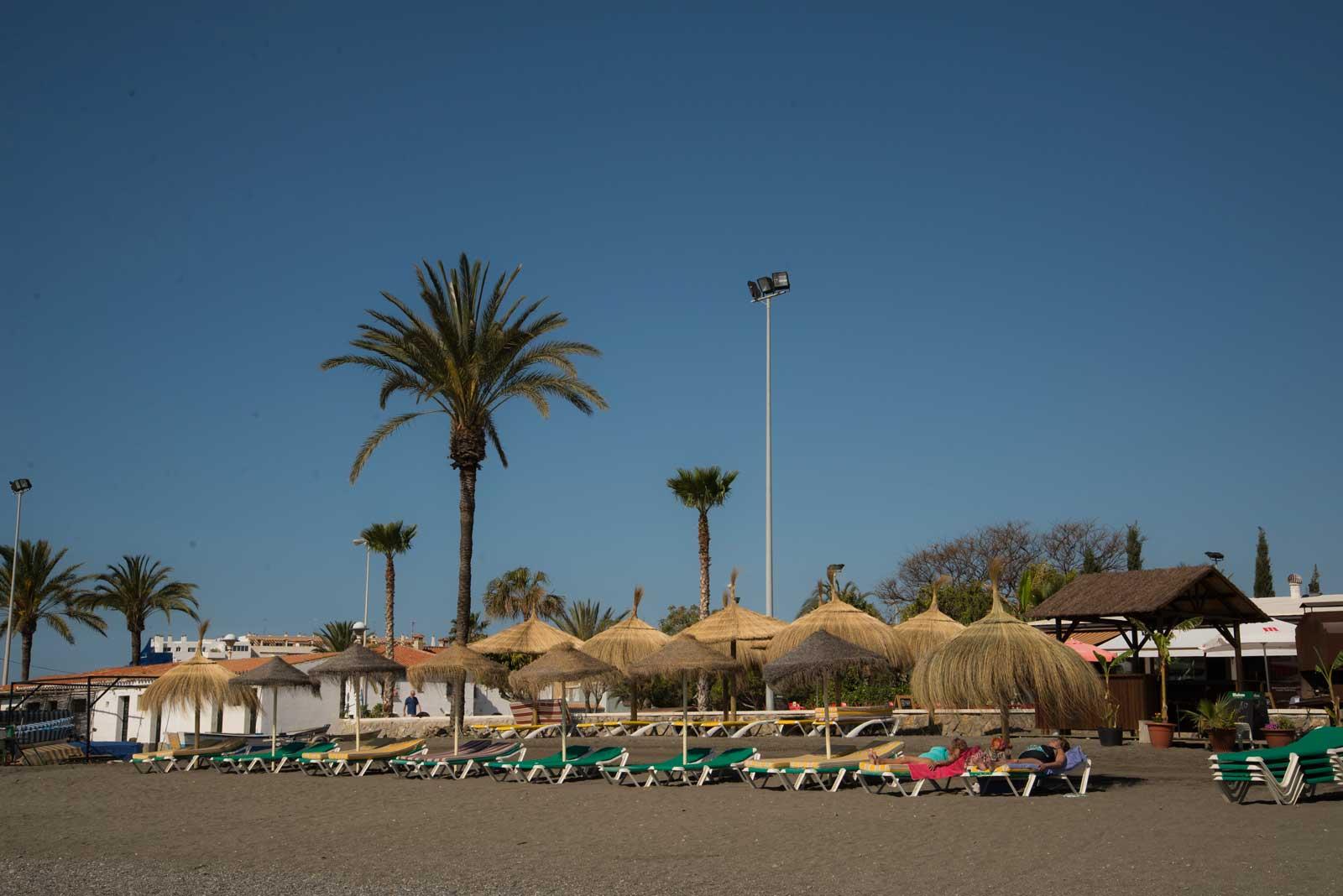 Fin strand i Torre del Mar