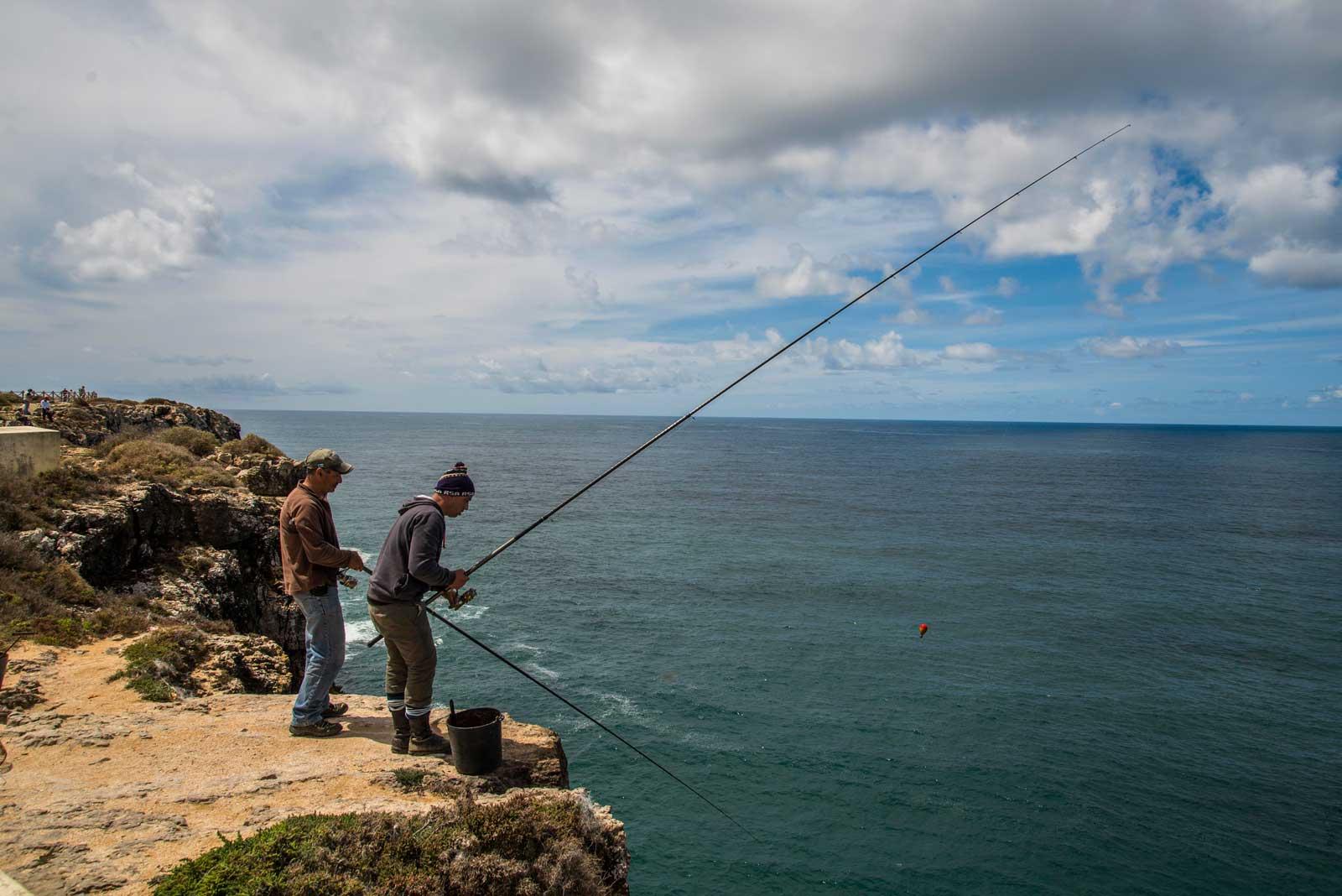 Dristige fiskere